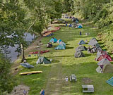 Pub Dubina – camping-site on the bank of the River Ohře