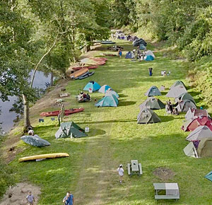 Camping-site at the River Ohře - Dubina, Kyselka